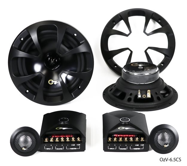 """Picture of OzV-6.5CS - 6.5"""" 2-Way Component System, RMS 85 Watts-MAX 180 Watts"""