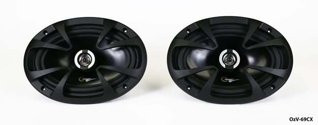 """Picture of OzV-69CX - 6"""" x 9"""" 2-Way Coax, 3.27"""" Deep, RMS 110 Watts-MAX 220 Watts"""
